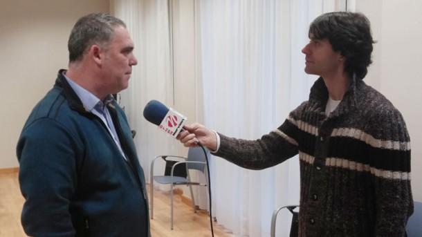Aita Menni Zerbitzu Sozialak zuzendaria, José Antonio Ezquerra, elkarrizketan