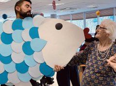Carnaval 2020 en la Residencia geriátrica Txurdinagabarri