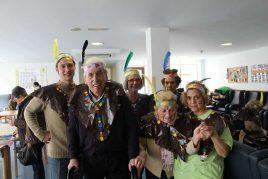 Carnaval en la Residencia geriátrica Barandiaran de Durango