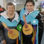 Carnavales en la Residencia Joxe Miel Barandiaran de Durango