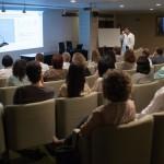 Sesión clínica de Eloi Nin sobre los beneficios del ejercicio físico para las personas mayores