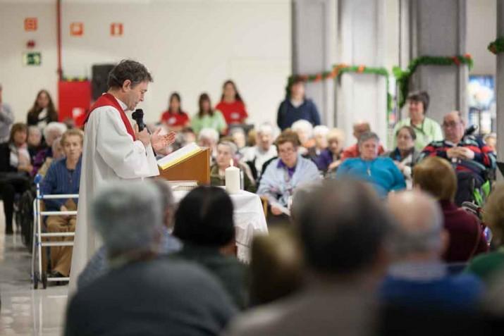 Misa de Navidad en Txurdinagabarri