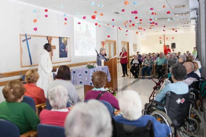 Intervención de la superiora de Hermanas Hospitalarias