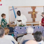 Eucaristía en la Residencia de tercera edad Txurdinagabarri