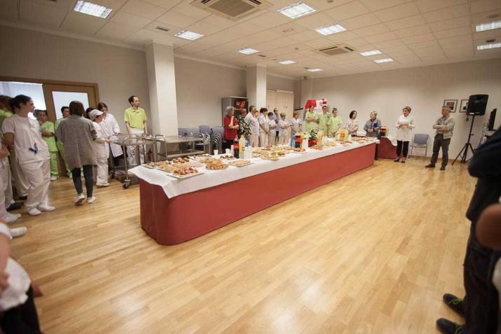 Lunch en la Residencia de mayores Txurdinagabarri de Bilbao