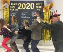 Nochevieja 2019 en la Residencia de mayores Txurdinagabarri