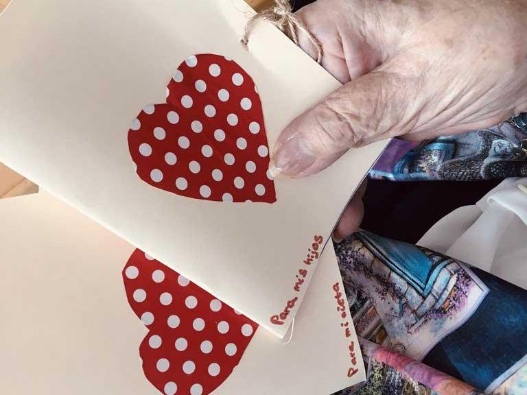 San Valentín 2020 en la Residencia de mayores Txurdinagabarri