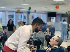 Nueva persona mayor centenaria en la Residencia Txurdinagabarri de Bilbao