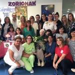Centenario de Carmen Sanz en la Residencia de Personas Mayores Joxe Miel Barandiaran