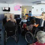 Formación a residentes de Joxe MIel Barandiaran sobre medidas de prevención de contagios