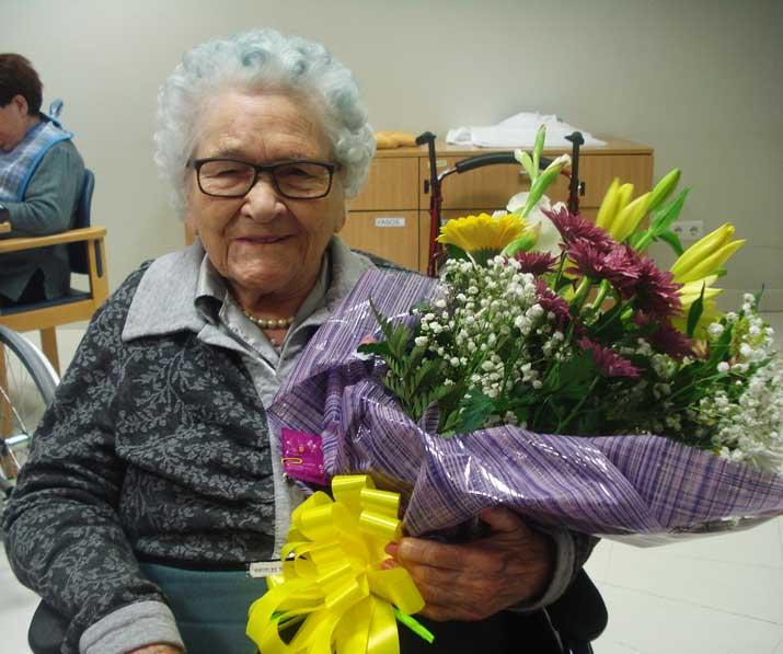 Mª Ángeles cumple 100 años