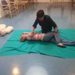 Formación en el uso de desfibrilador en la Residencia y Centro de Día de Personas Mayores Joxe Miel Barandiaran de Durango