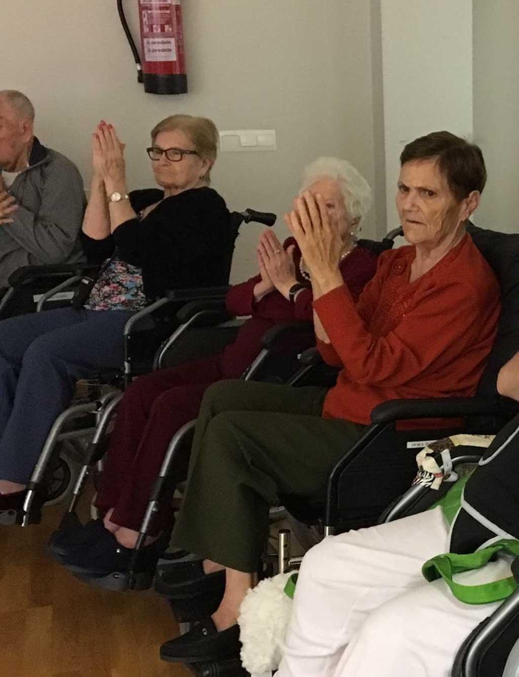 Yoga con familiares