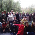 Visita de estudiantes de Integración Social a la Residencia Txurdinagabarri