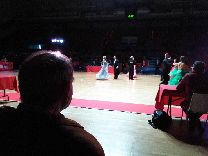 En el Campeonato nacional de Baile Deportivo
