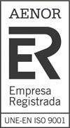 Logotipo de Aenor ISO 9001