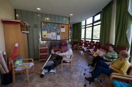 Interior del Centro de Día para la Tercera Edad Aita Menni de Esloriatza