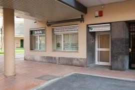 Entrada del Centro de Día para ancianos Aita Menni de Deusto (Bilbao)