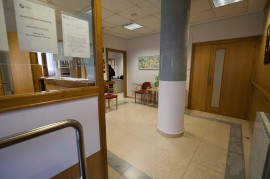 Recepción Centro de Día Psicogeriátrico Aita Menni de Deusto (Bilbao)