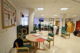 Una de las salas del Centro de Día Psicogeriátrico Aita Menni de Deusto (Bilbao)