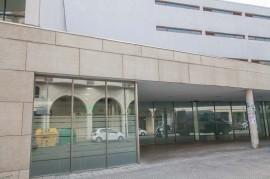 Entrada del Centro de Día y Residencia de ancianos Joxe Miel Barandiaran de Durango (Bizkaia)