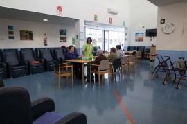 Sala principal del Centro de Día Joxe Miel Barandiaran de Durango