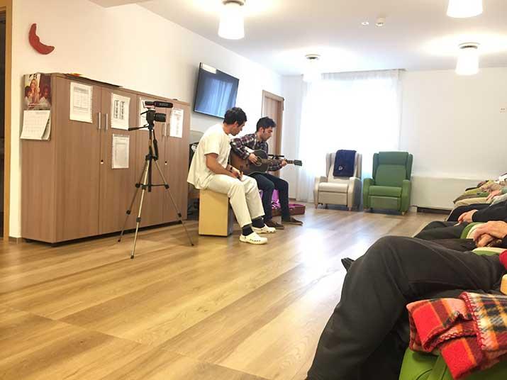 Akustik Histories en el Centro de Día de personas mayores de Soraluze