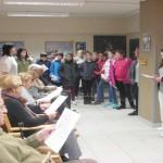 Santa Águeda en el Centro de Día de personas mayores dependientes de Bergara, Gipuzkoa