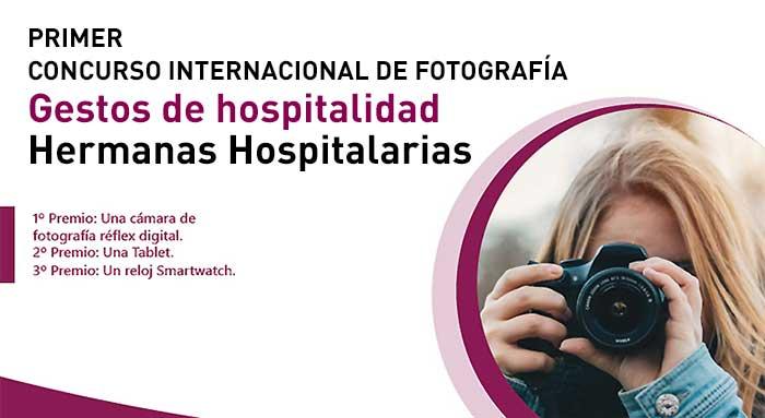 Concurso Internacional de Fotografía Hermanas Hospitalarias