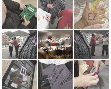Collage sobre violencia de género