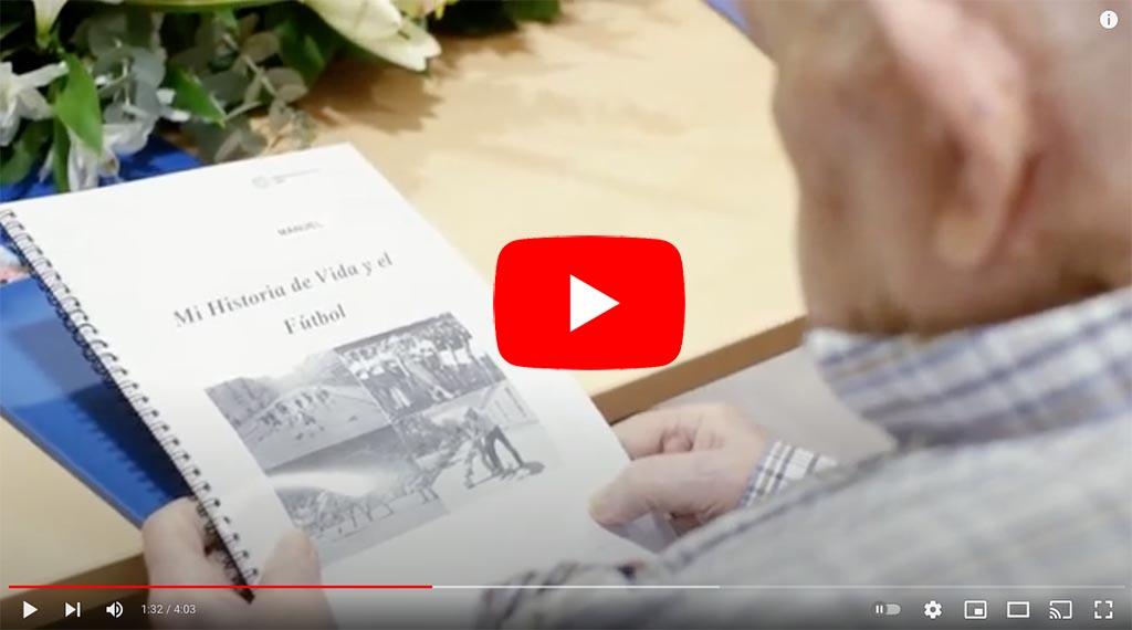 Vídeo de homenaje a los talleres de reminiscencia y fútbol