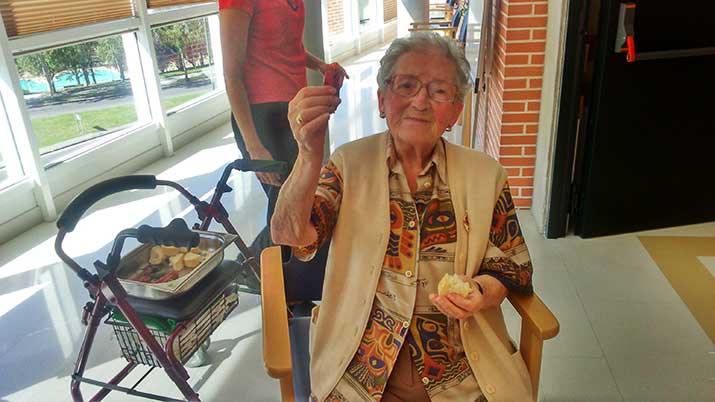 Huertos de interior cuidados por personas mayores