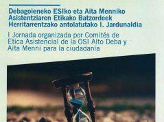 Jornada de los Comités de Ética Asistencial de Aita Menni y OSI Alto Deba