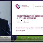 """Conferencia """"Psicopatología del deterioro cerebral y toma de decisiones"""" de José Ignacio Quemada"""