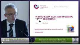José Ignacio Quemadaren hitzaldia: Hitzaldia: Garuneko narriadura duen pertsona batek bere egoerari eta ondareari buruzko erabakiak har ditzake?