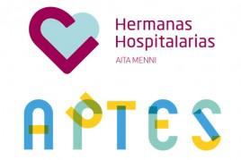 Logotipos de Aita Menni y APTES