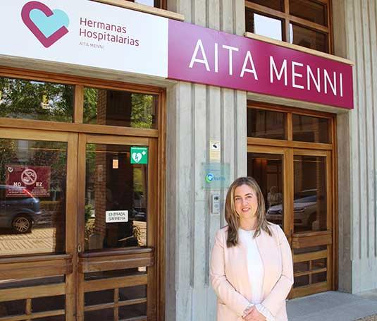 Maika Palacios, directora médica del Hospital Aita Menni