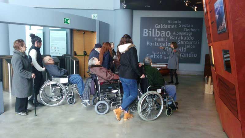Bilboko Itsas Museoa bisitatuz