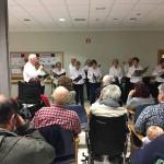 Coro Nagusilan en la Residencia de ancianos Txurdinagabarri