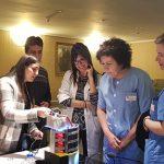 Presentación del pastillero automático Noa en el Hospital Aita Menni