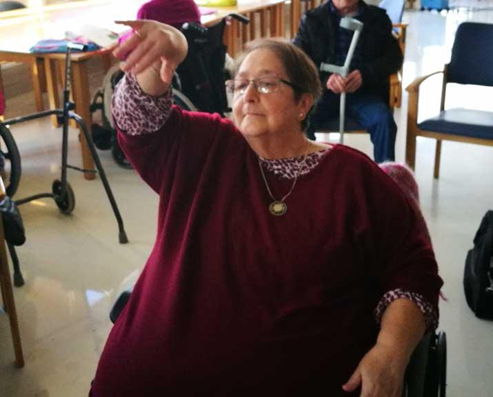 Baile inclusivo en la Residencia de mayores Txurdinagabarri