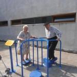 Circuito de ejercicios para personas mayores