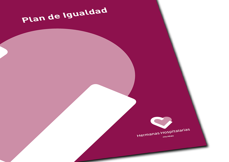 Imagen de la portada del Plan de Igualdad de Aita Menni