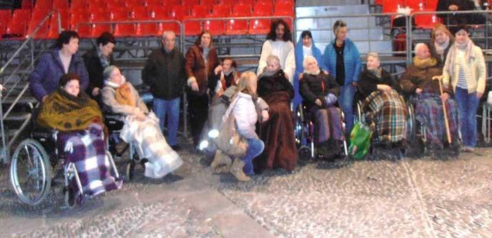 La Residencia de personas mayores Barandiaran de Durango en la Pasión de Jesús