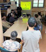 Taller de Reminiscencia basada en el Fútbol en la Residencia San Martín de Oñate