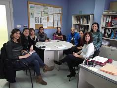 Visita al Centro de Día de Personas Mayores de Arrasate