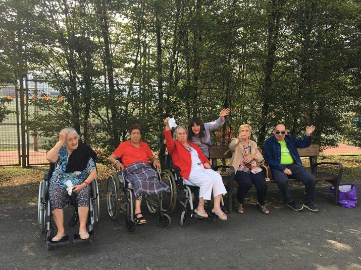 La Residencia de ancianos de Txurdinagabarri (Bilbao), en el circo