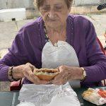 Residencia de ancianos Txurdinagabarri de Bilbao - Merienda en la azotea