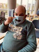 Movember en la Residencia de mayores Txurdinagabarri de Bilbao