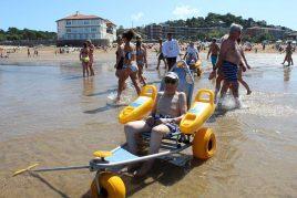 En la playa de Plentzia
